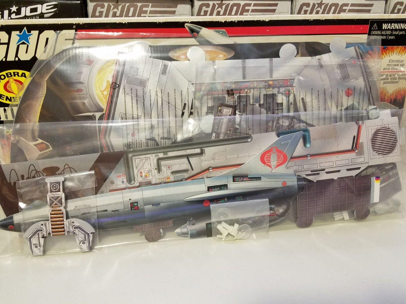 GI Joe SDCC 2017 Comic Con Missile Command Diorama LOOSE COMPLETE