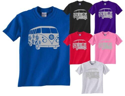 Camper Van Camping Caravan  Ladies T Shirt Gift Size S-XXL