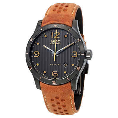 Mido Multifort Automatic Anthracite Dial Men's Watch M025.407.36.061.10