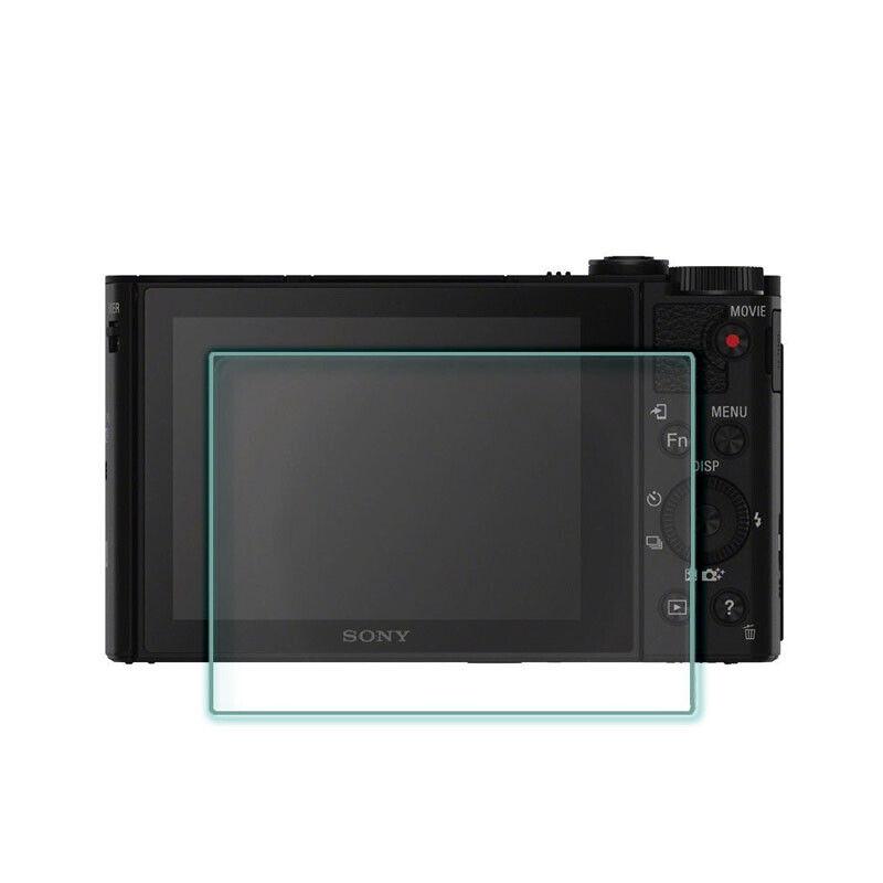 2PCS Tempered Glass Screen Protector Film for Sony HX90 HX90V HX80 WX500