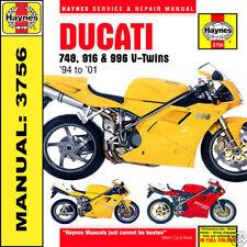 Haynes Ducati 748 916 SP 996 Biposto 94-01 Handbuch 3756