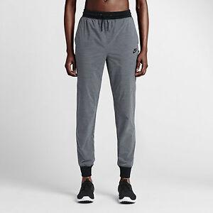 190878600448 Nike Tech Woven Bonded Pants Women s Training Grey Size UK Large ...
