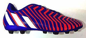 rifle simpático Recreación  Adidas Kids' Performance PREDITO FxG J Soccer Cleats Red/Night Flash B44358  a1   eBay