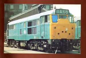 Class-31-Ranelagh-Bridge-yard-Railway-Locomotive-Unused-Postcard-C3937