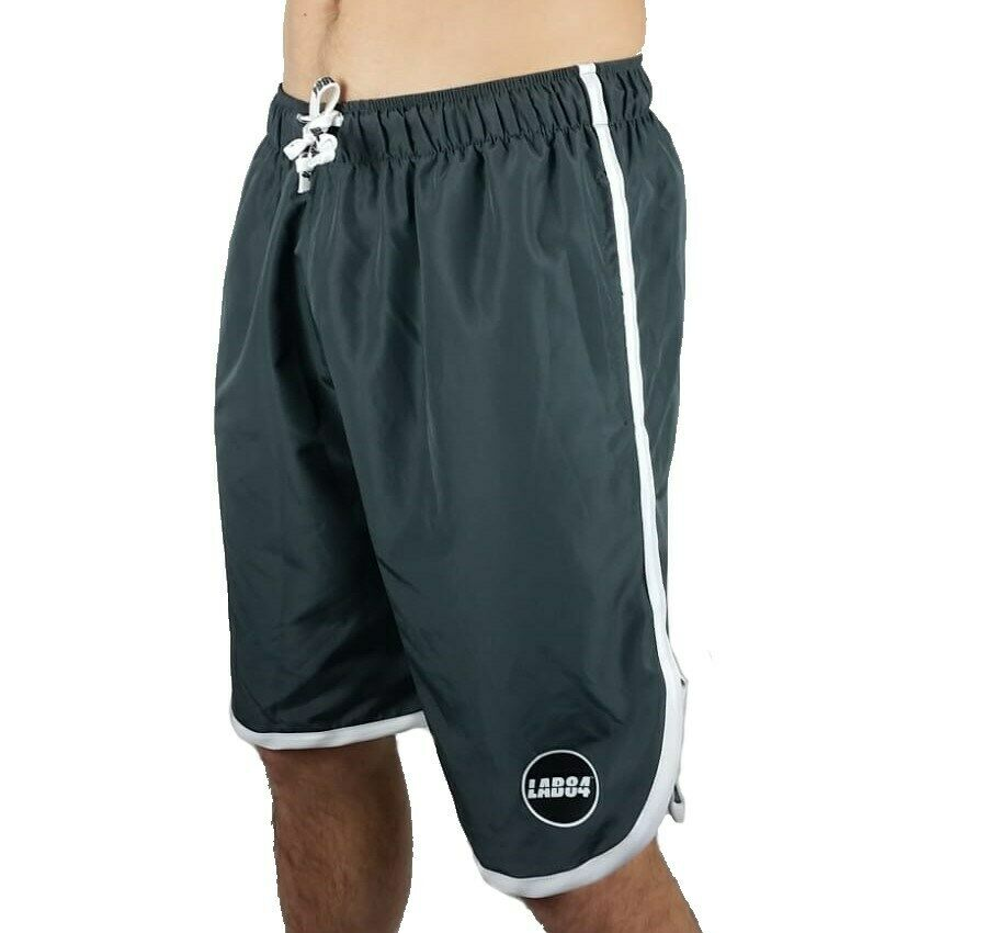 Lab84 Shorts Costume Shorts Sea Sport S9 Shm1002basic Lead 4089
