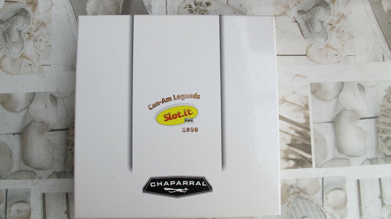 SMasse    Set   Can-Am Legends 1966   2x CHAPARRAL 2E   65 +  66  Ref.  CW08