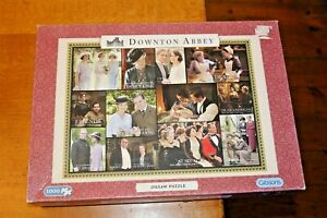 Gibsons 1000 Piece Jigsaw Puzzle Downton Abbey G7041 Complete & VGC