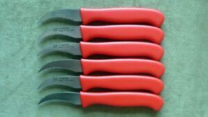 Nirosta Messer Set 6 Stuck Schalmesser Kuchenmesser Obstmesser