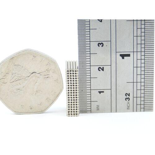 N35 1mm dia x 10mm thin Neodymium rod magnets MRO DIY reed switches SMALL PKS