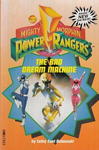 Mighty Morphin Power Rangers: Bad Dream Mac... by Dubowski, Cathy East Paperback
