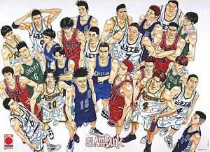 Slam Dunk Manga Anime Poster Print Basketball Size 40 X