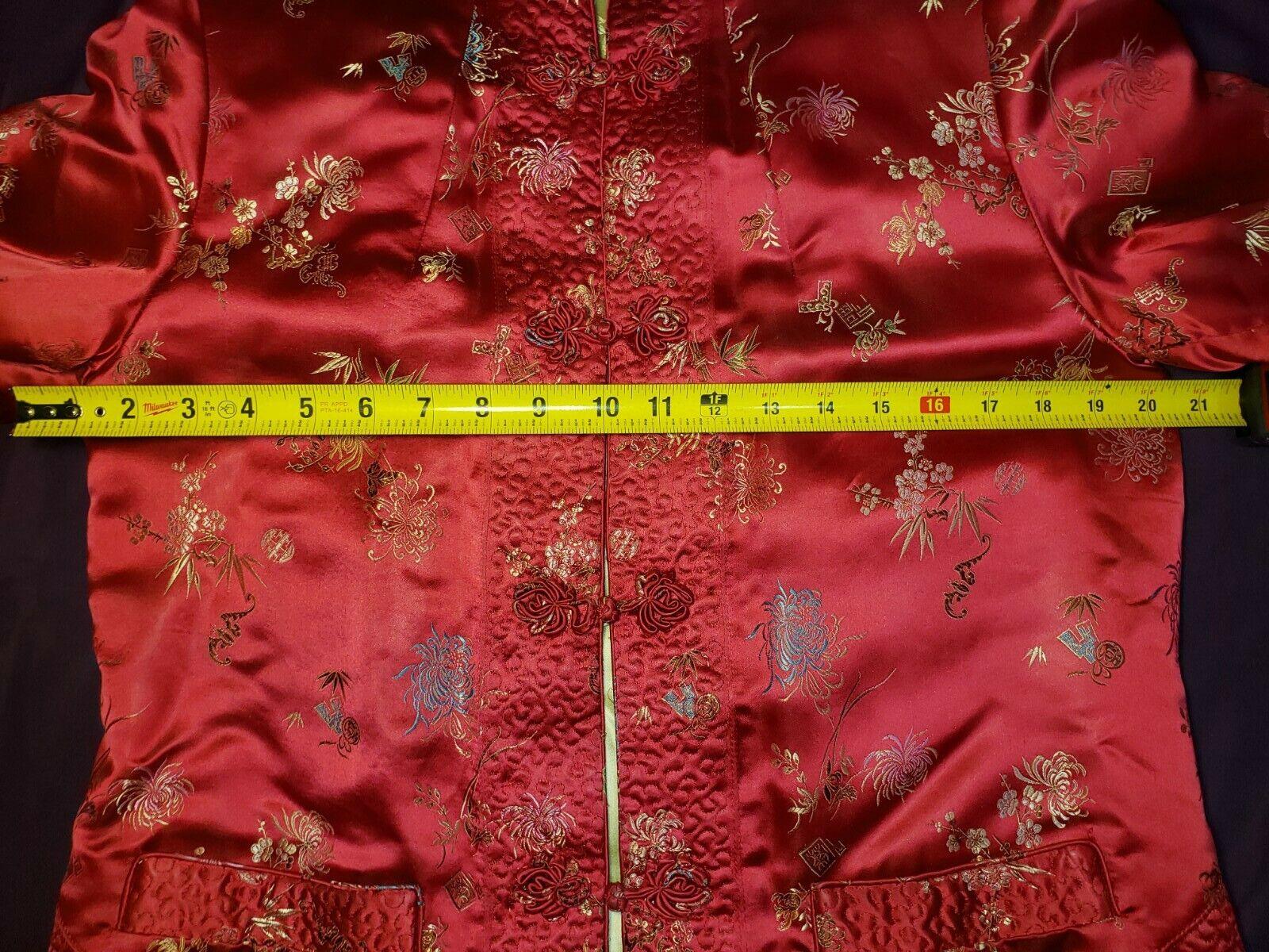 Qipao Long Sleeve Top Brocade - image 6