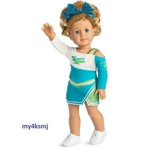 American Girl 2018 Ensemble de tenue de soirée en tenue de compétition, poupée, expédition rapide, non incluse 887961632873