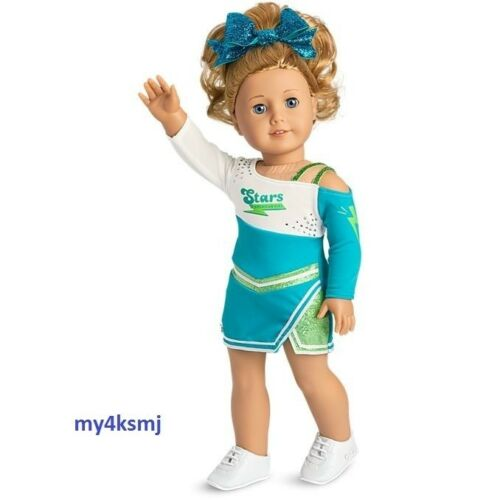 American Girl 2018 COMPETITIVE CHEER Outfit SET Fast Ship DOLL NOT Included