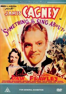 Something-To-Sing-About-1937-DVD-James-Cagney-Evelyn-Daw-William-Frawley-NEW