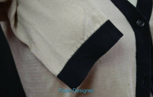 Xs 3 Slv Soie Colorée Top 4 Coton Pull En Spade Cardigan Bloquante Kate Nouveau 7waqBCn