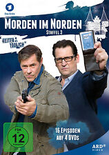 4 DVDs * MORDEN IM NORDEN - DIE KOMPLETTE STAFFEL 3 # NEU OVP^