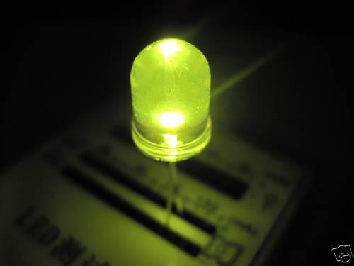 10mm 50pz LED Gelb Gelb Ultrahelle Leds 80/' 000mcd A2c35