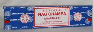 Satya-Sai-Baba-Nag-Champa-Agarbatti-Incense-Pack-40-gram-Appr-40-Stick-Box