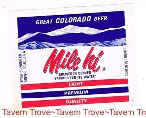 1960s OHIO International Findlay OLD DUTCH BEER Quart 32oz Label Tavern Trove