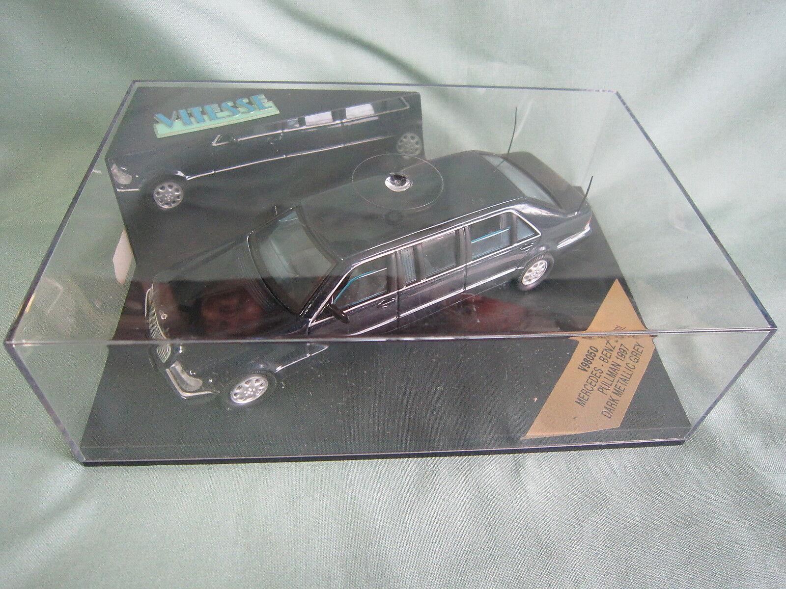 promociones DV5874 DV5874 DV5874 VITESSE MERCEDES BENZ S600L PULLMAN 1997 DARK Ref V98050 Ed lim 1 43 BOX  barato y de alta calidad