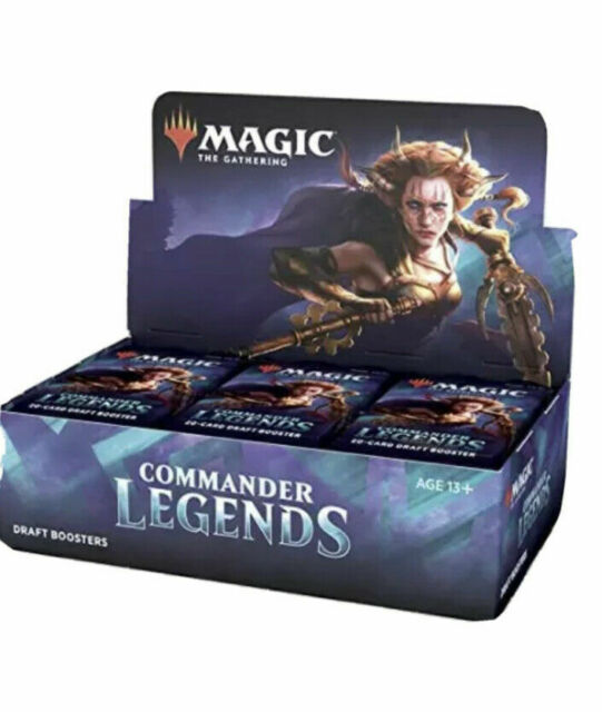 Commander Legends Draft Booster NEW SEALED MTG  Free Priority Shipping.