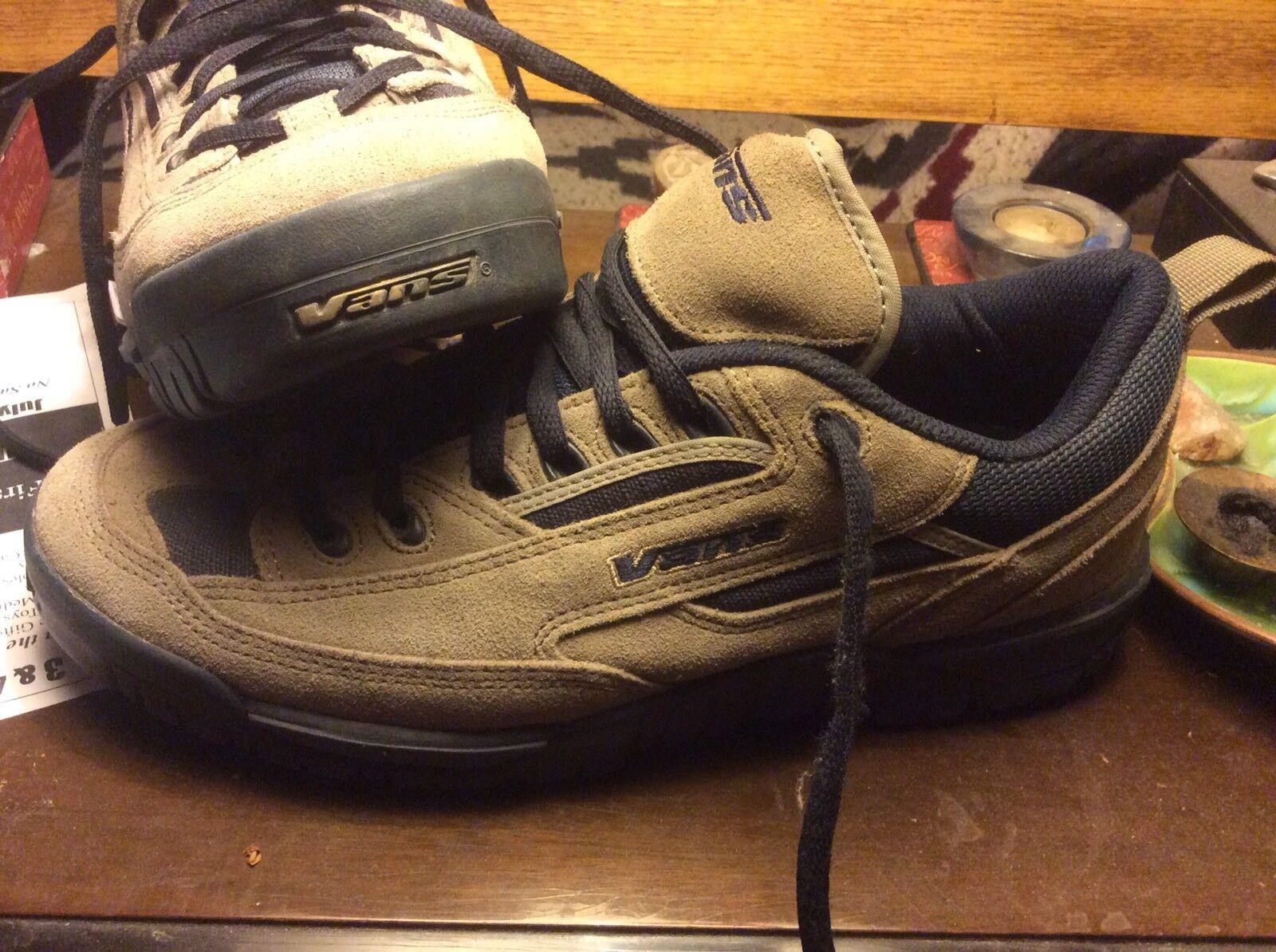 Very Rare! 1999 Men's Vans Padded Tongue Alternate Logo Shoes Size 11