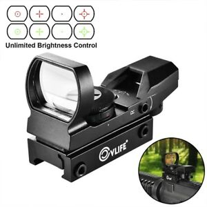 Tactical-1x22x33-4-Reticle-Reflex-Red-and-Green-Scope-20mm-Rail-for-Hunting-AR