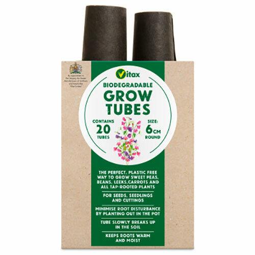 Vitax 6GT1 Grow Tubes Pack 20 x4
