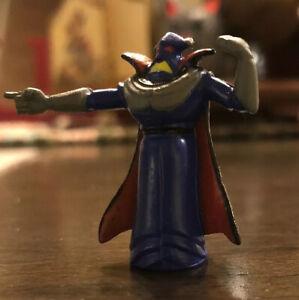 """Zurg Disney Miniature 1/"""" Tiny Toy Story Figurine Buzz Lightyear Zerg Villain New"""