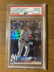 2018-Topps-Update-Gleyber-Torres-Rainbow-Foil-RC-US200-PSA-10-GEM-MINT-ROOKIE