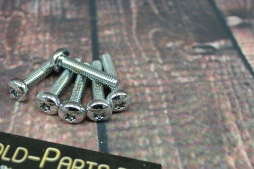 Linsenkopfschraube mit TX M6x20 CHROM verchromt M6 Schraube Sechsrund Sternförmi