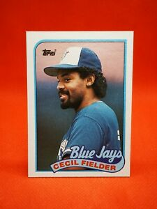 Topps 1989 carte card Baseball MLB NM+/M Toronto Blue Jays #541 Cecil Fielder