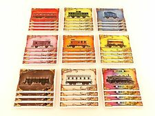 Ticket to Ride Europe Replacement / Expansion Train Car Game Card Set 36pc
