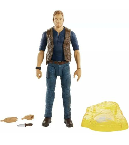 Jurassic Park Amber Collection Owen Grady 6-Inch Action Figure *NIB