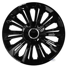 NRM Universal Wheel Trims STIG Black 15 set 4 pieces