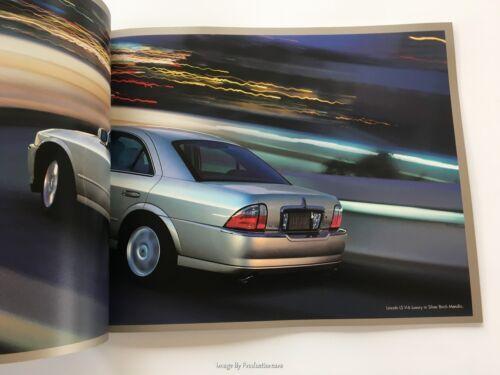 2004 Lincoln LS 28-page Original Car Sales Brochure Catalog
