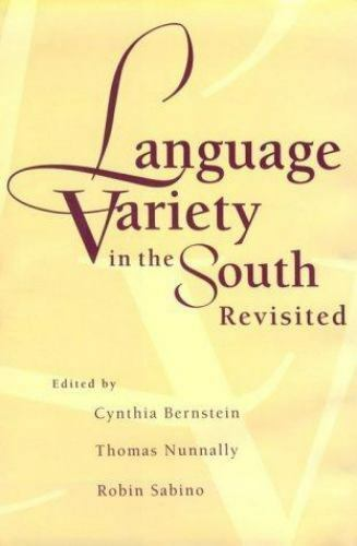 Language Variety in the South Revisited  Hardcover Used - Very Good