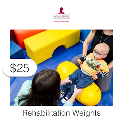 $25 Charitable Donation For: St. Jude Rehab Weights