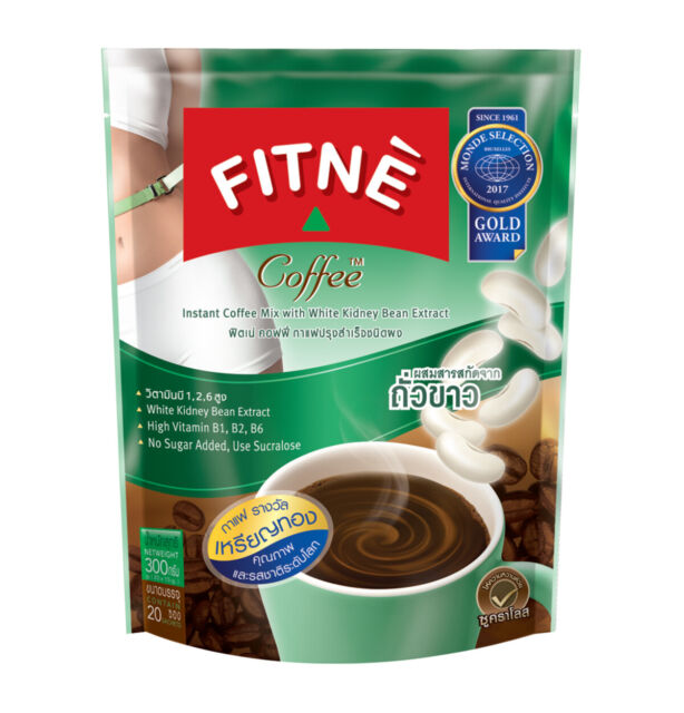 Fitne Instant Coffee Mix Powder With White Kidney Bean Extract 20 Sachets Set For Sale Online