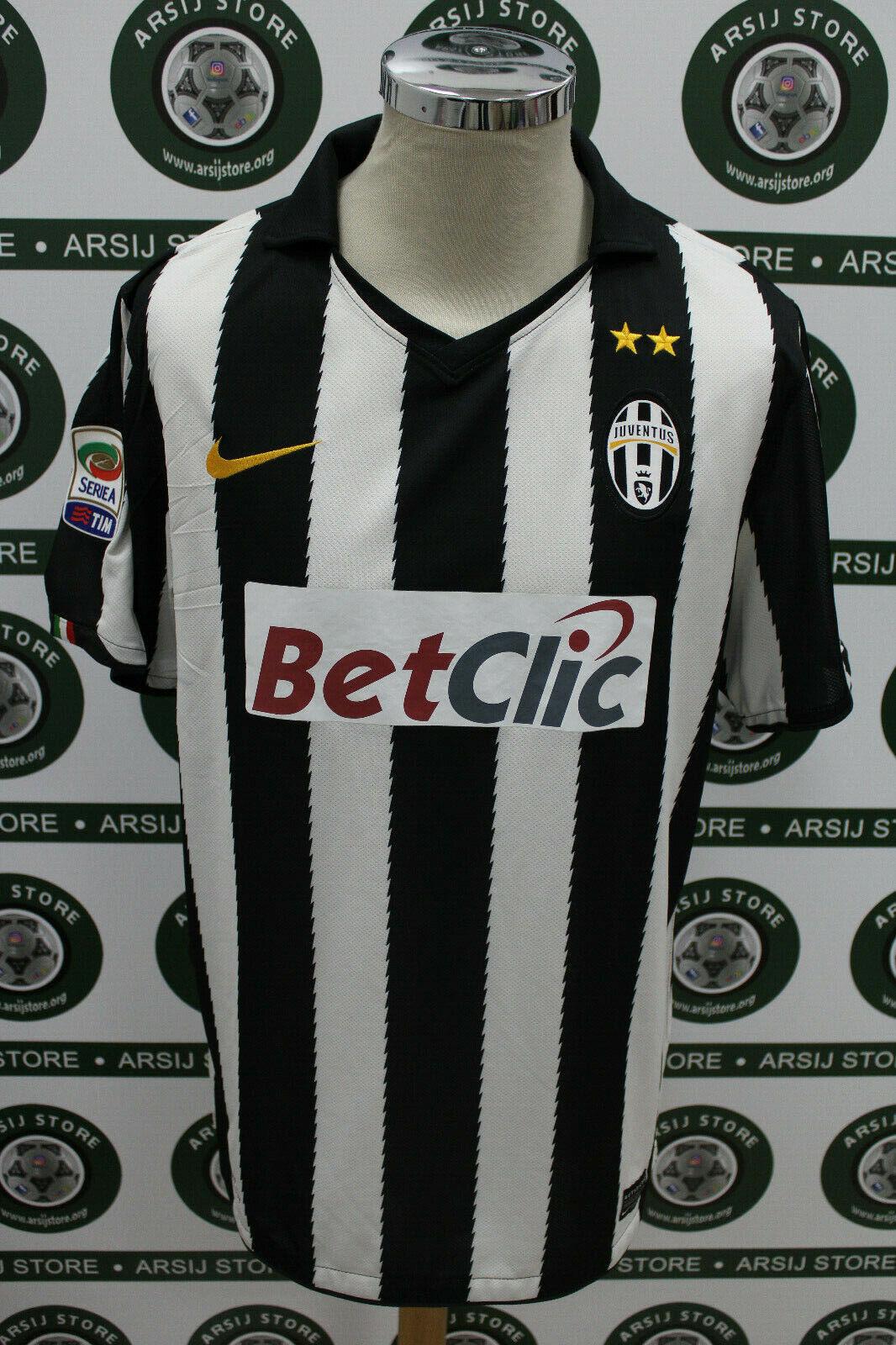 Maglia calcio shirt maillot trikot camiseta JUVENTUS DEL PIERO TG L 2010 11