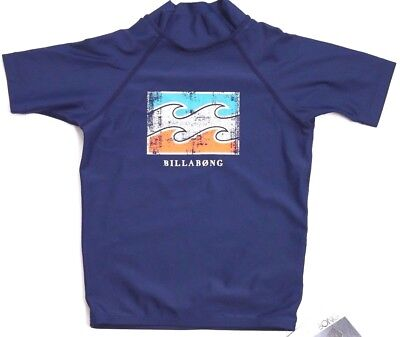 NWOT RRP $39.99. Boy/'s Billabong Zesty Navy Elastic Beach Shorts Size 4