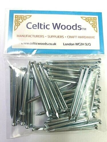 Pack of 50 Masonry Nails 2.5 x 40mm Extra Strong Heat Treated