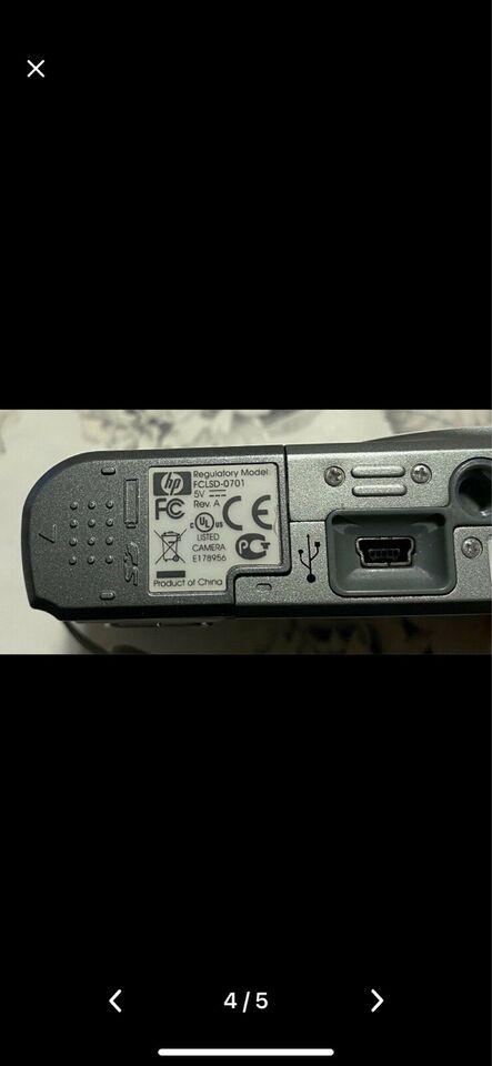 Digitalkamera, Hp photosmart, Photosmart M737