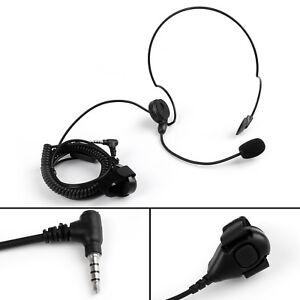 Single-Side-Overhead-PTT-Headset-For-Yaesu-VX-351-VX-354-FT-10R-FT-60R-Radio-US