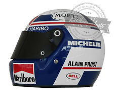 Alain Prost 1985 Formula 1 World Champion F1 Full Scale Replica Helmet Casque