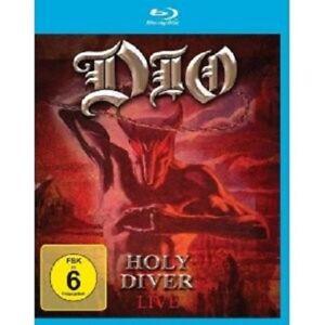 """DIO """"HOLY DIVER LIVE"""" BLU RAY NEU"""