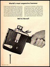 1964 Bell & Howell Autoload Movie Camera Expensive Hammer Vintage Print Ad