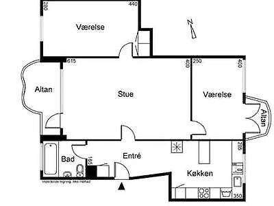 1814 værelse, kvm 12, mdr forudbetalt leje 6500
