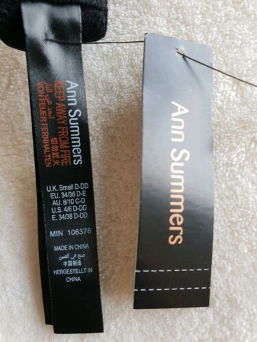 """NEW ANN SUMMERS /""""DOUBLE BOOST/"""" UNDERWIRED CAMI /& SUSPENDER SIZE UK SIZE 8//10"""